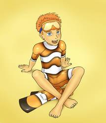 Clownfish Boy by DonPretzel