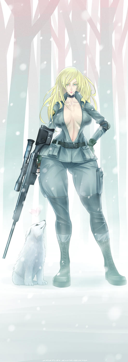 Sniper Wolf by CristianBuitrago