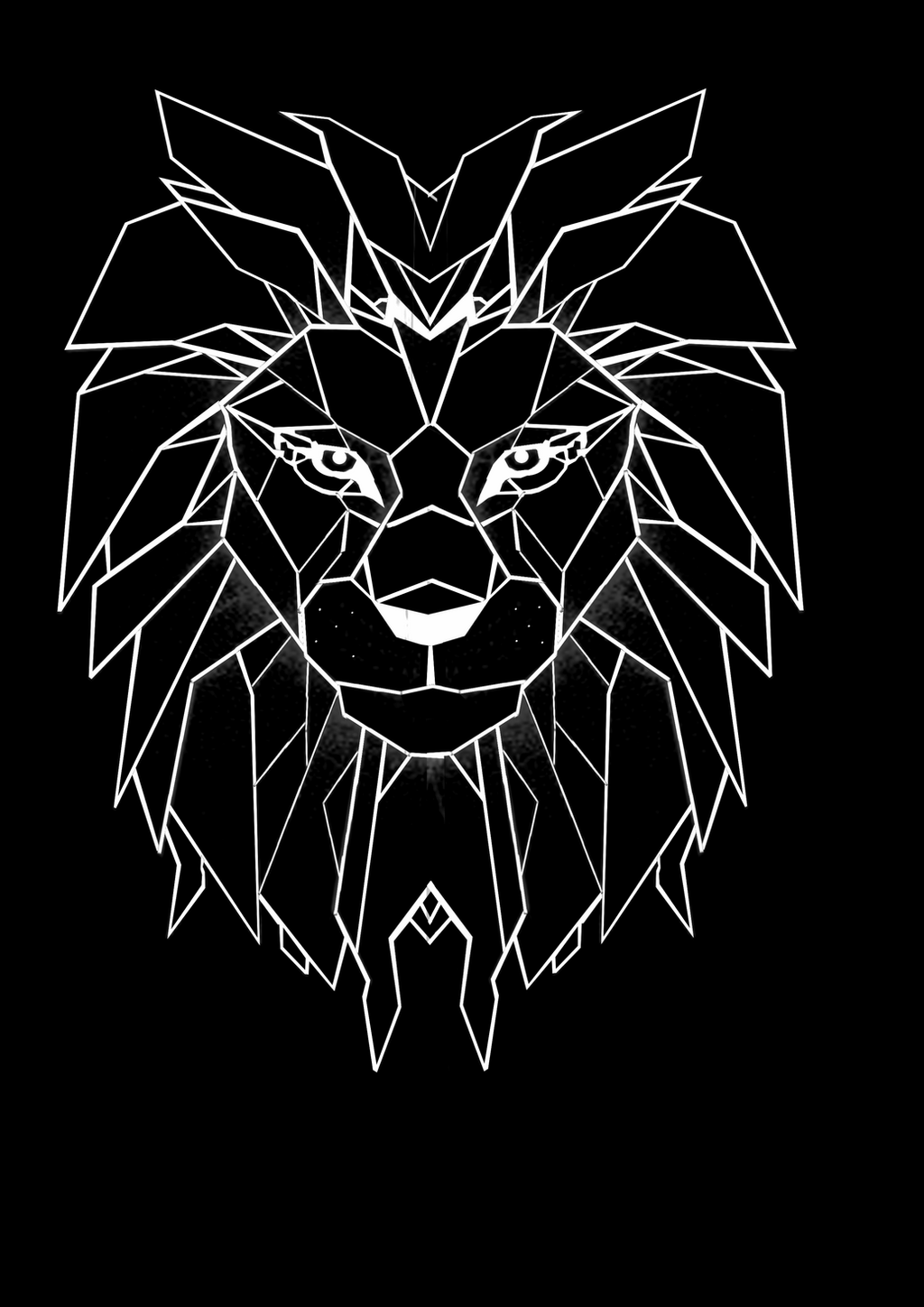 lion head graphic design by chaeyo on deviantart