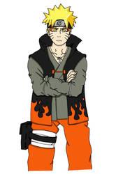 Naruto Sennin Mode Color