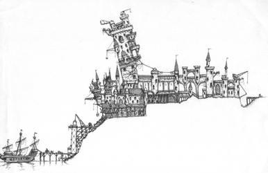 Steampunk Town by manorak