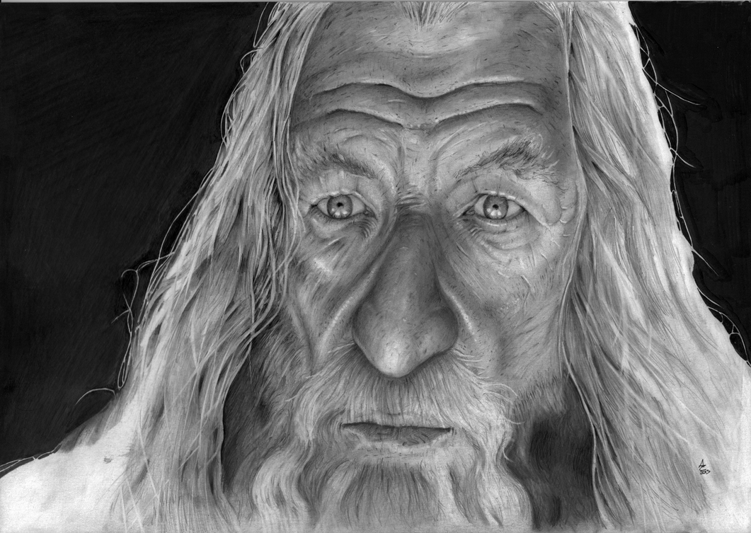 Gandalf by manorak