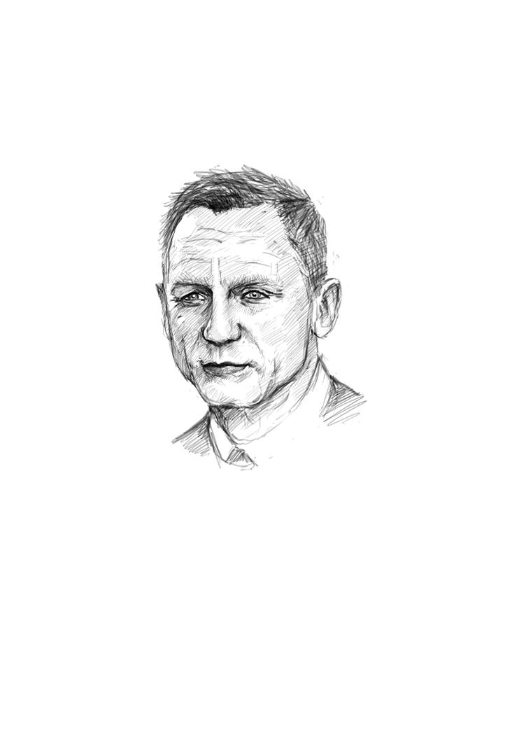 Daniel Craig by manorak