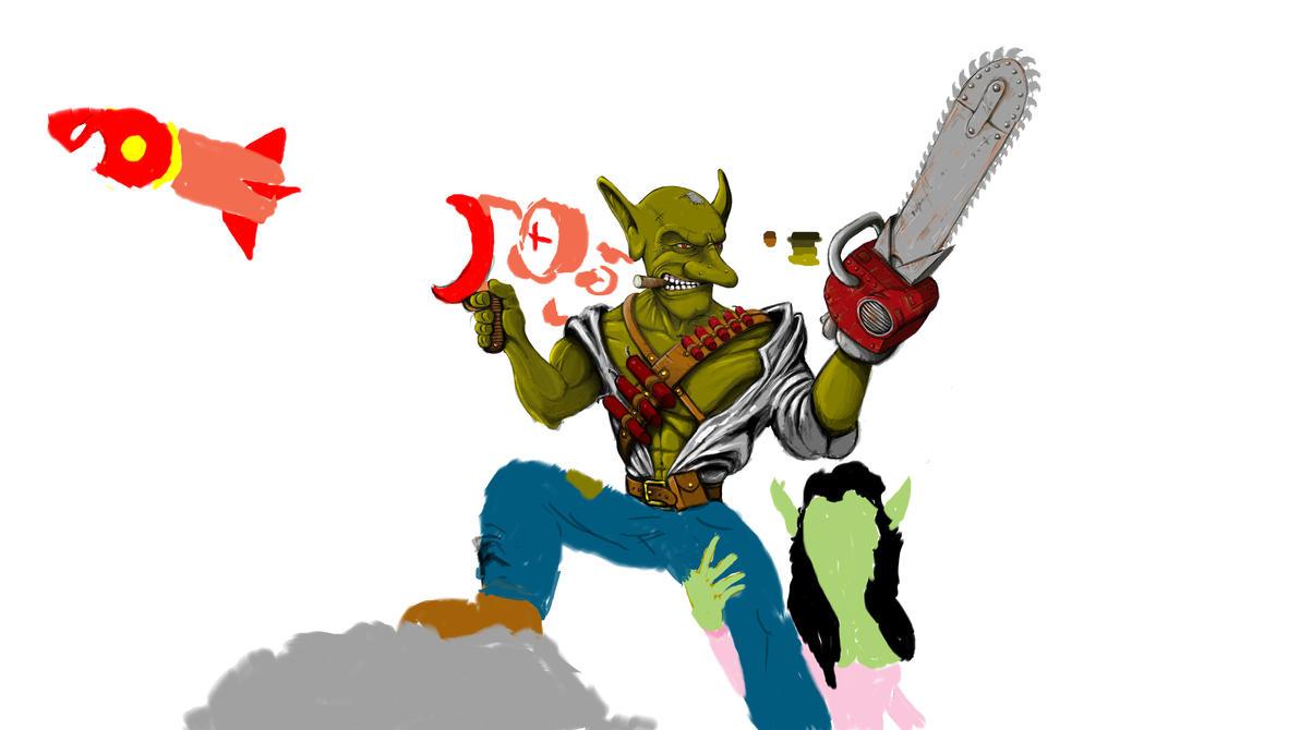 Goblin WIP by manorak