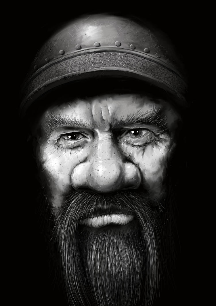 Old Dwarf by manorak