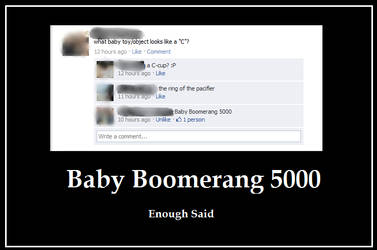 Baby Boomerang 5000 by Ming96