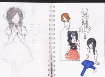 Sketch Dump 01 by Ming96