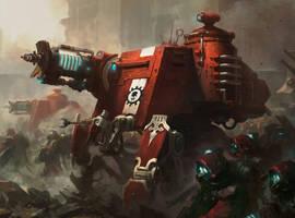 Warhammer 40000 'Skitarii Onager Dunecrawler'