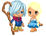 Jack Frost and Elsa by Chingster3