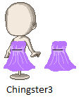 Purple Dress by Chingster3