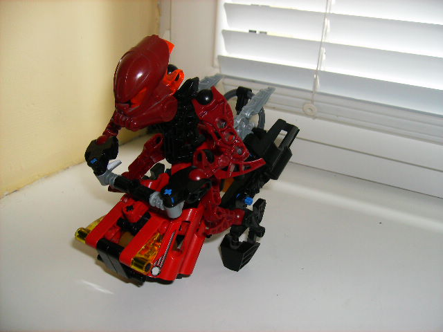 Matoran Aircraft by WormWoodTheStar