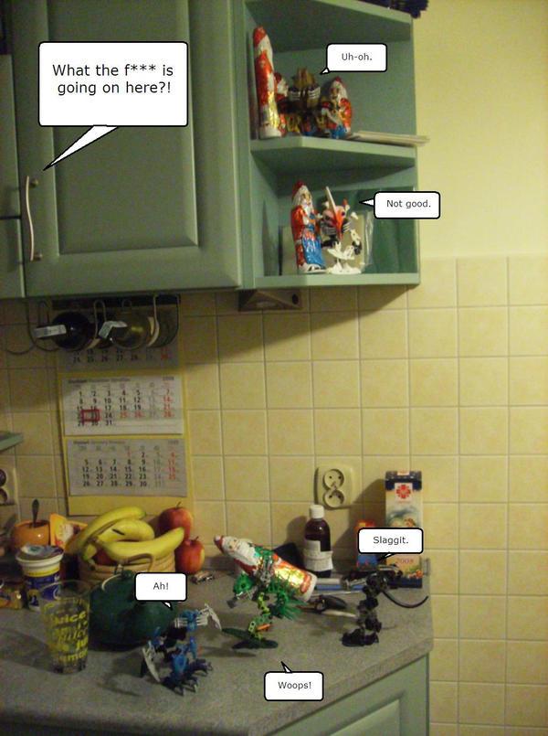 We r in ur kitchen by WormWoodTheStar