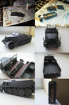 Sd.Kfz. 9 FAMO by WormWoodTheStar