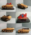 Sd.Kfz. 251-1 Ausf. B by WormWoodTheStar