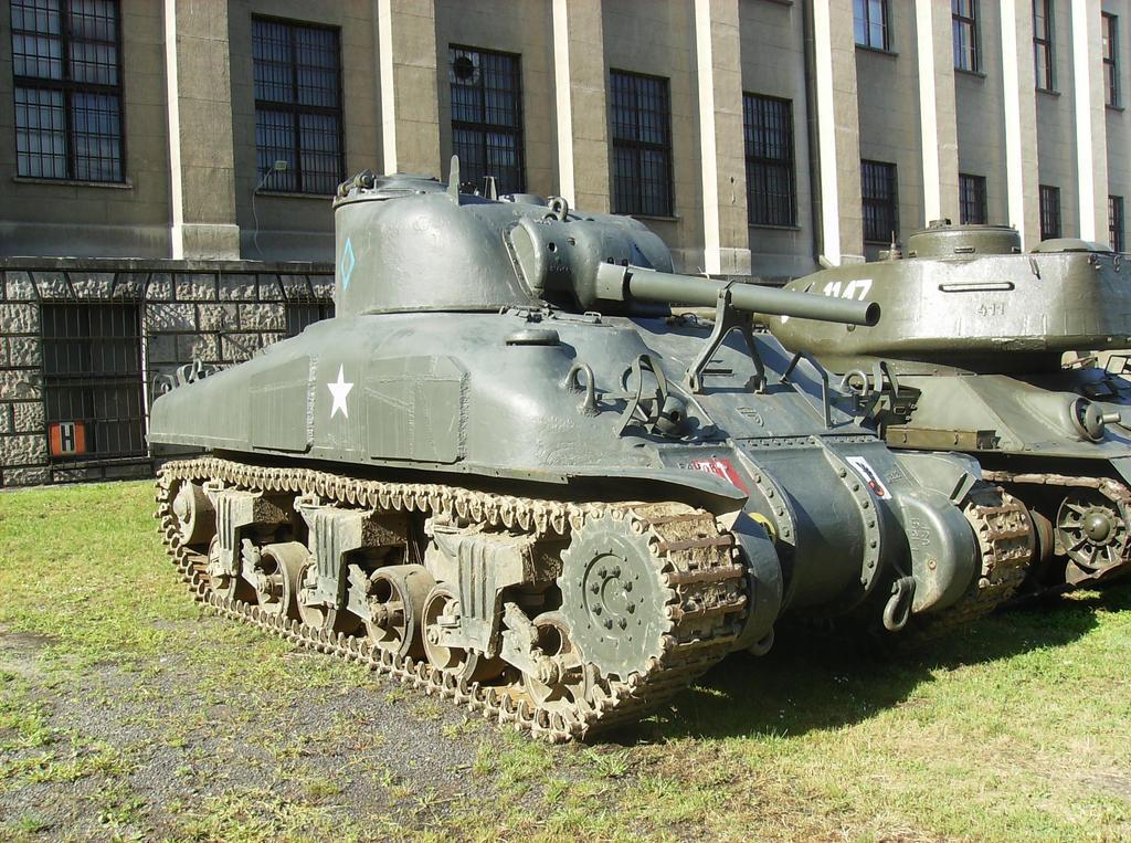M4 Sherman by WormWoodTheStar