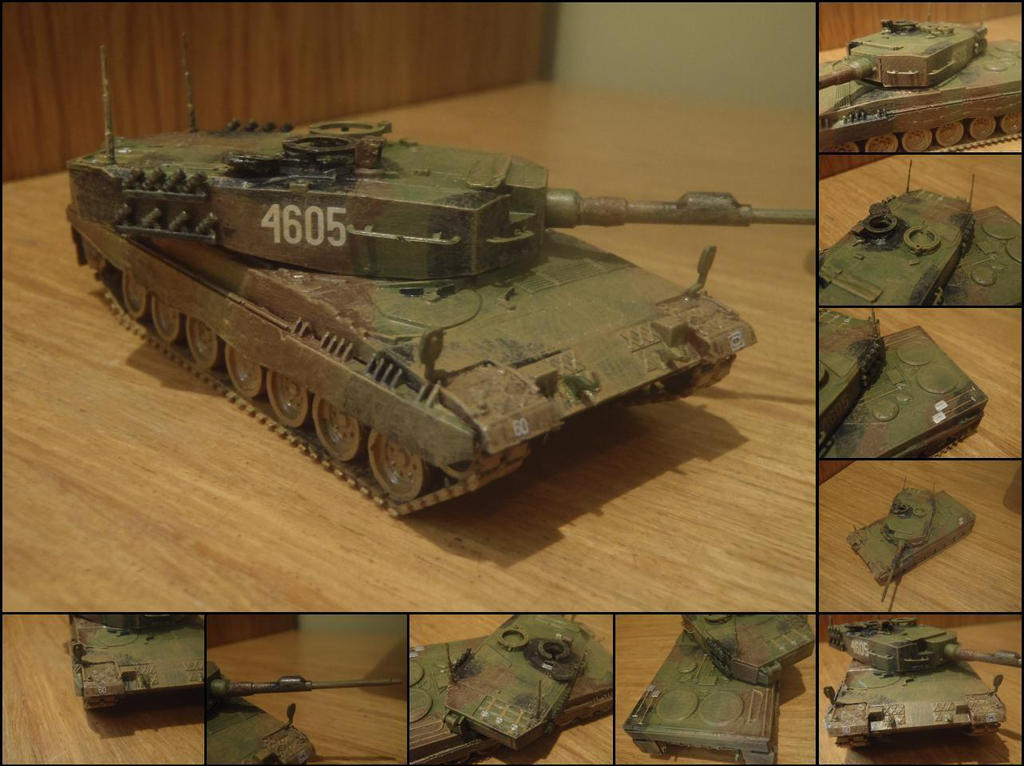 Leopard 2A4 by WormWoodTheStar