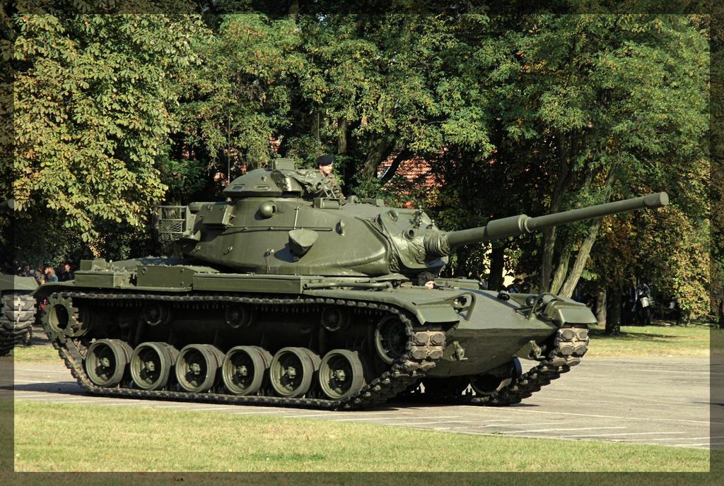 M60A1 Patton by WormWoodTheStar