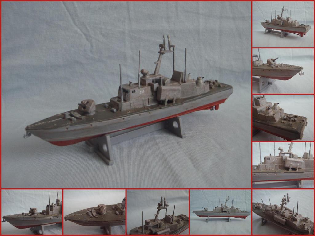 ORP Rolnik [Tarantul class corvette] [1:400] by WormWoodTheStar