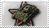 World of Tanks Stamp - T-70 by WormWoodTheStar
