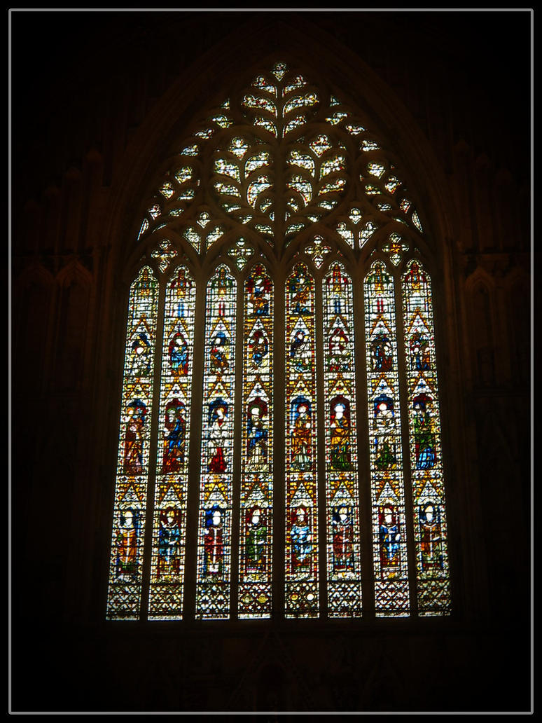York minster great west window by wormwoodthestar on for West window york minster