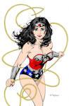 Wonder Woman by Art Thibert (New 52 Colored)