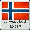 STAMP: Norwegian level EXPERT by Deestracted