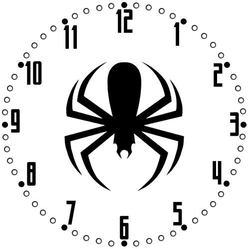 Clock Face Template. Vintage Clock Face Template With Zodiac Signs