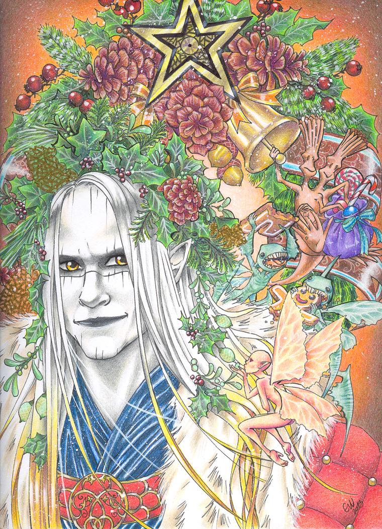 For -Prince Nuada-HolidayMagic- by Yo-Illuminator