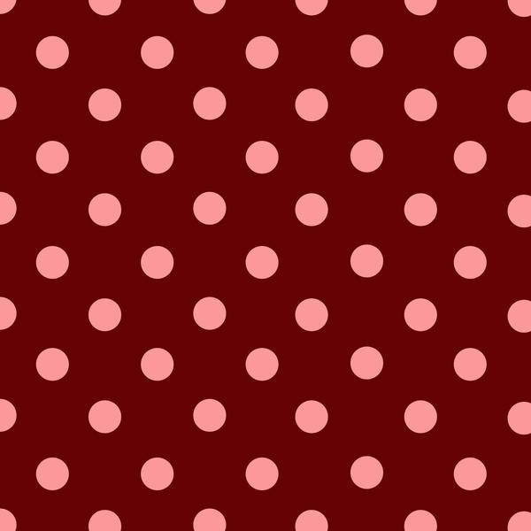 Red + Pink polka dot paper by Polstars-Stock