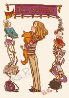 Hermione by RaRo81