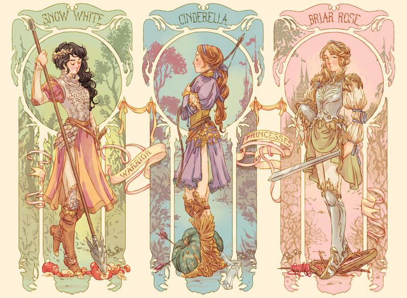 Warrior Princesses by RaRo81