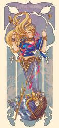 Warrior Little Mermaid by RaRo81
