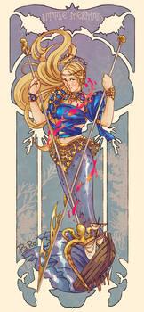 Warrior Little Mermaid