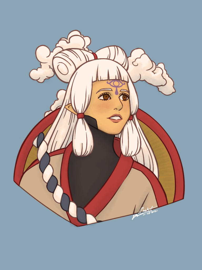 Young Impa Hyrule Warriors Age Of Calamity By Musketsgoboom On Deviantart
