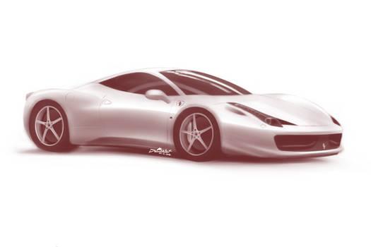 Ferrari 458 Italia (study)