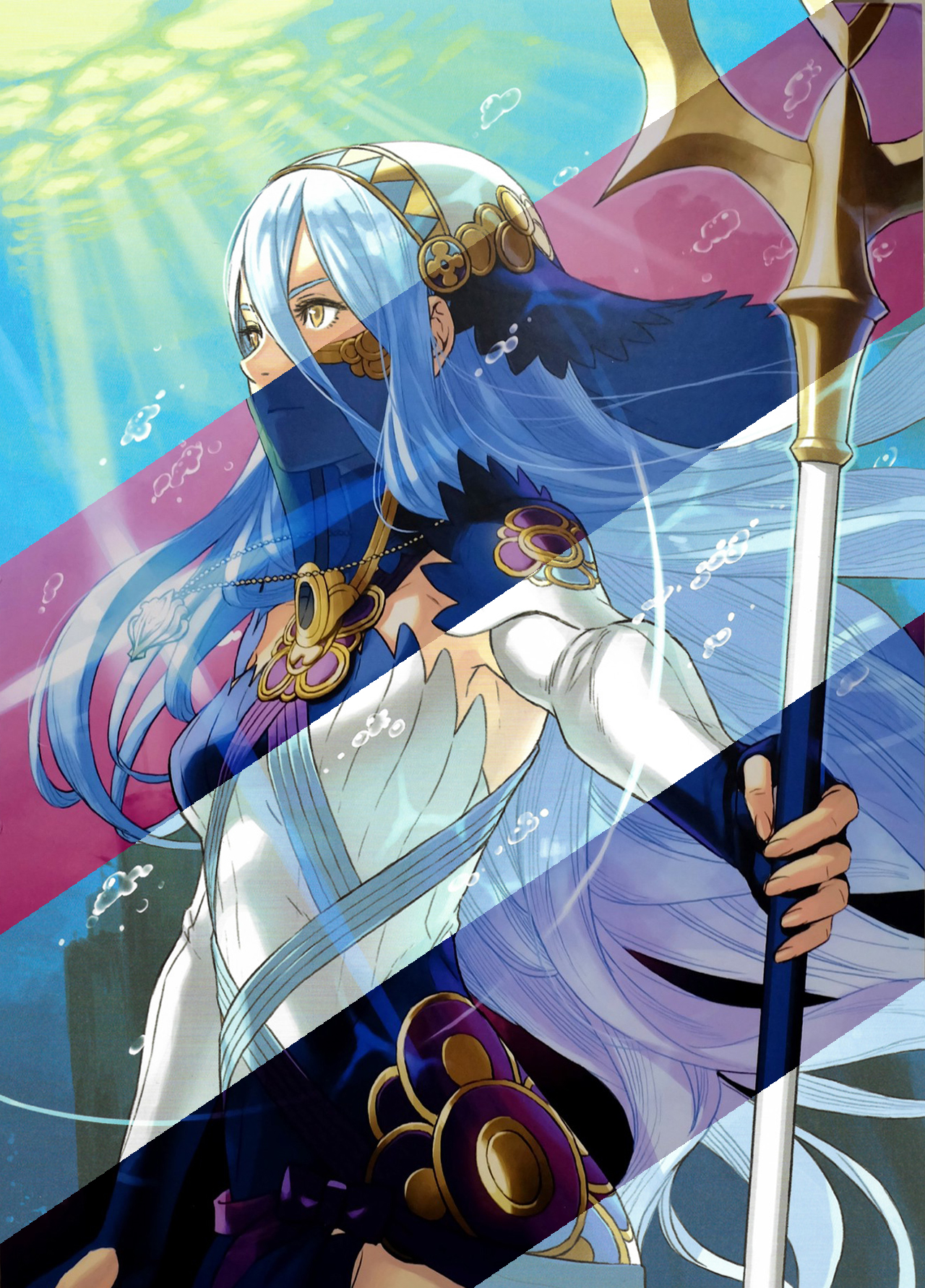 Azura Light And Dark Mobile Wallpaper By Kaz Kirigiri On Deviantart