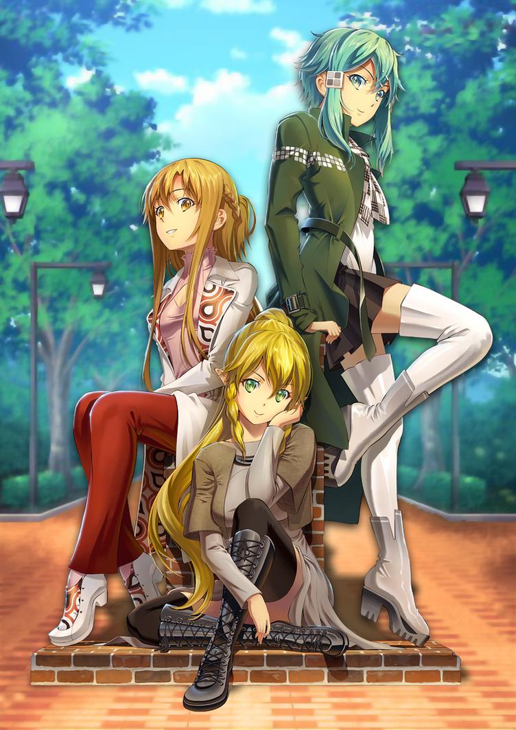 sword art online mobile phone wallpaperkaz-kirigiri on deviantart