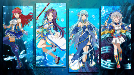Water Goddesses Wallpaper - SAO Memory Defrag