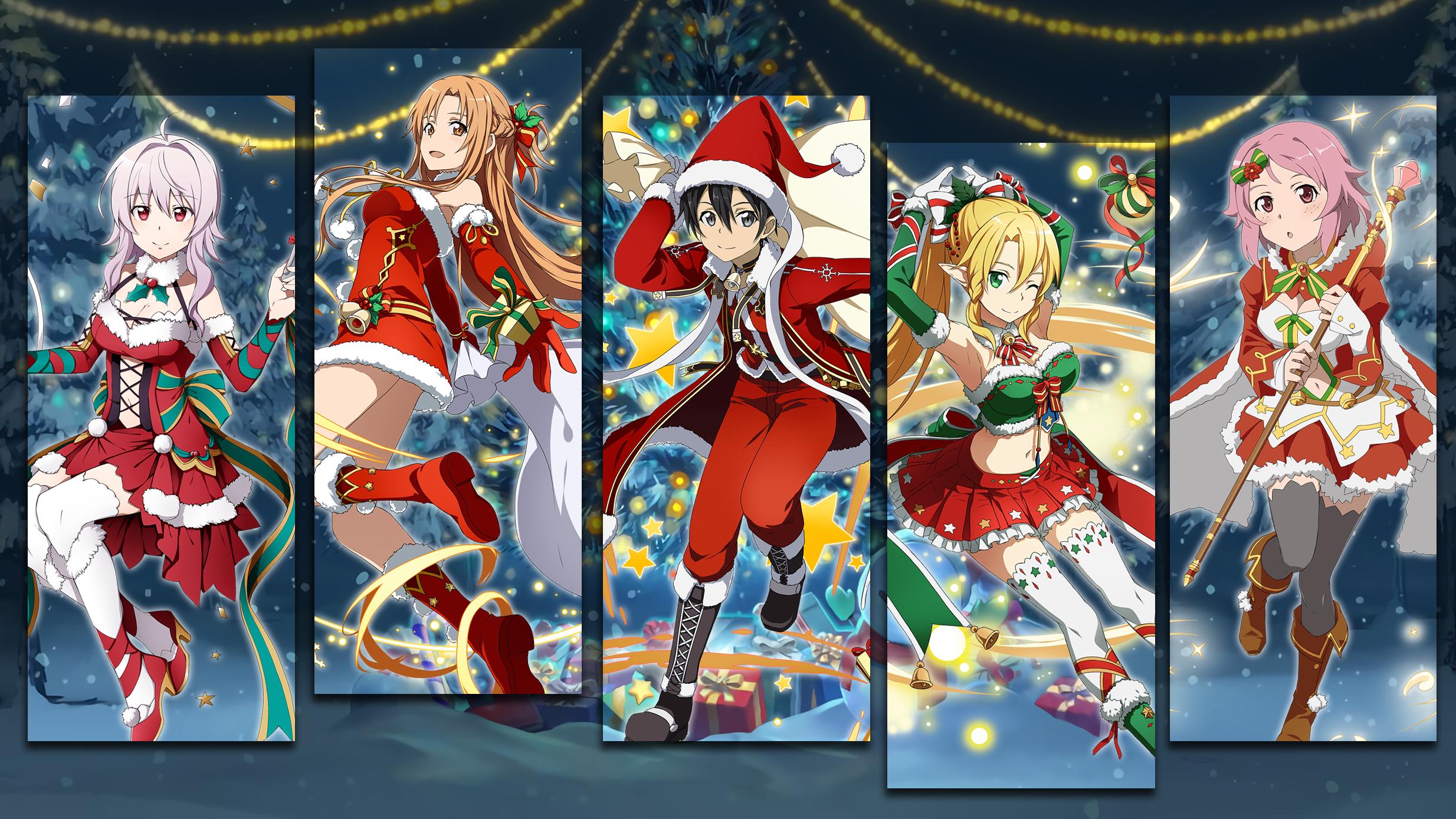 Christmas Gacha Wallpaper 1 Sao Memory Defrag By Kaz
