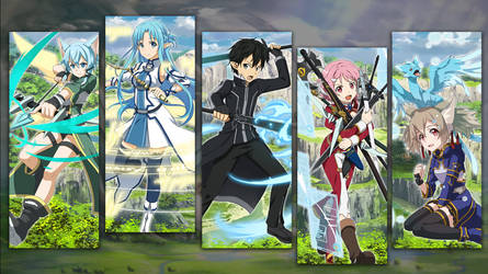 Water Gacha Wallpaper - SAO Memory Defrag