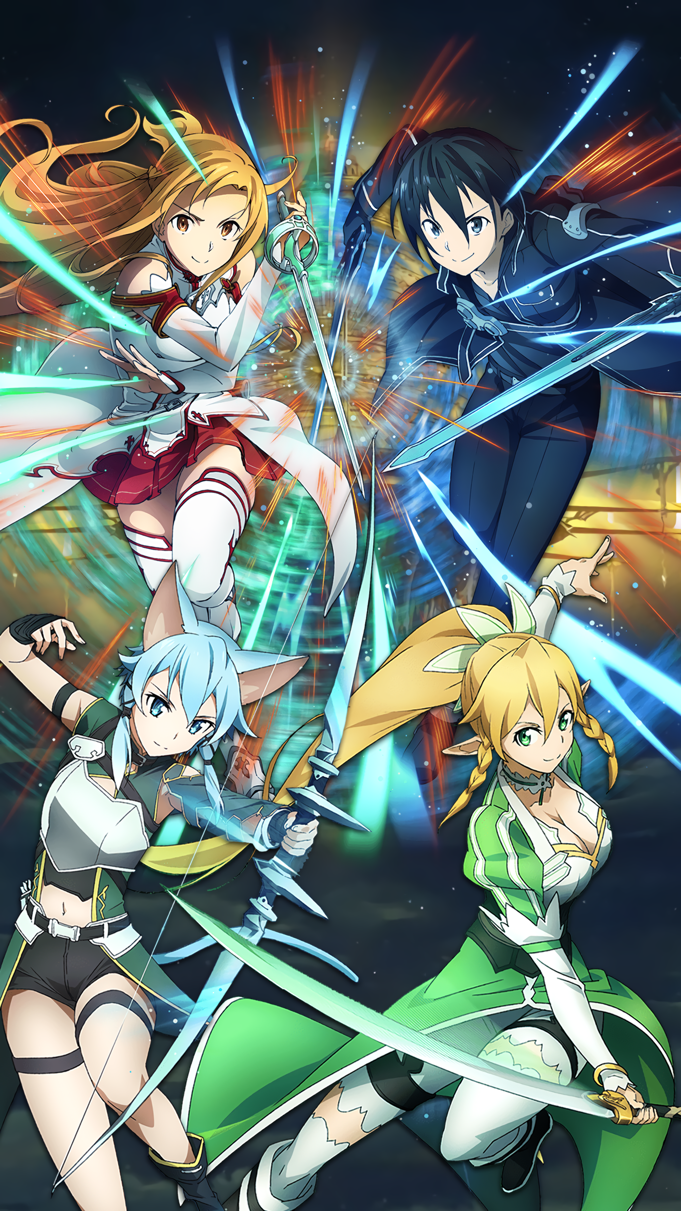 1st Anniversary Banner Mobile Wallpaper Sao Md By Kaz