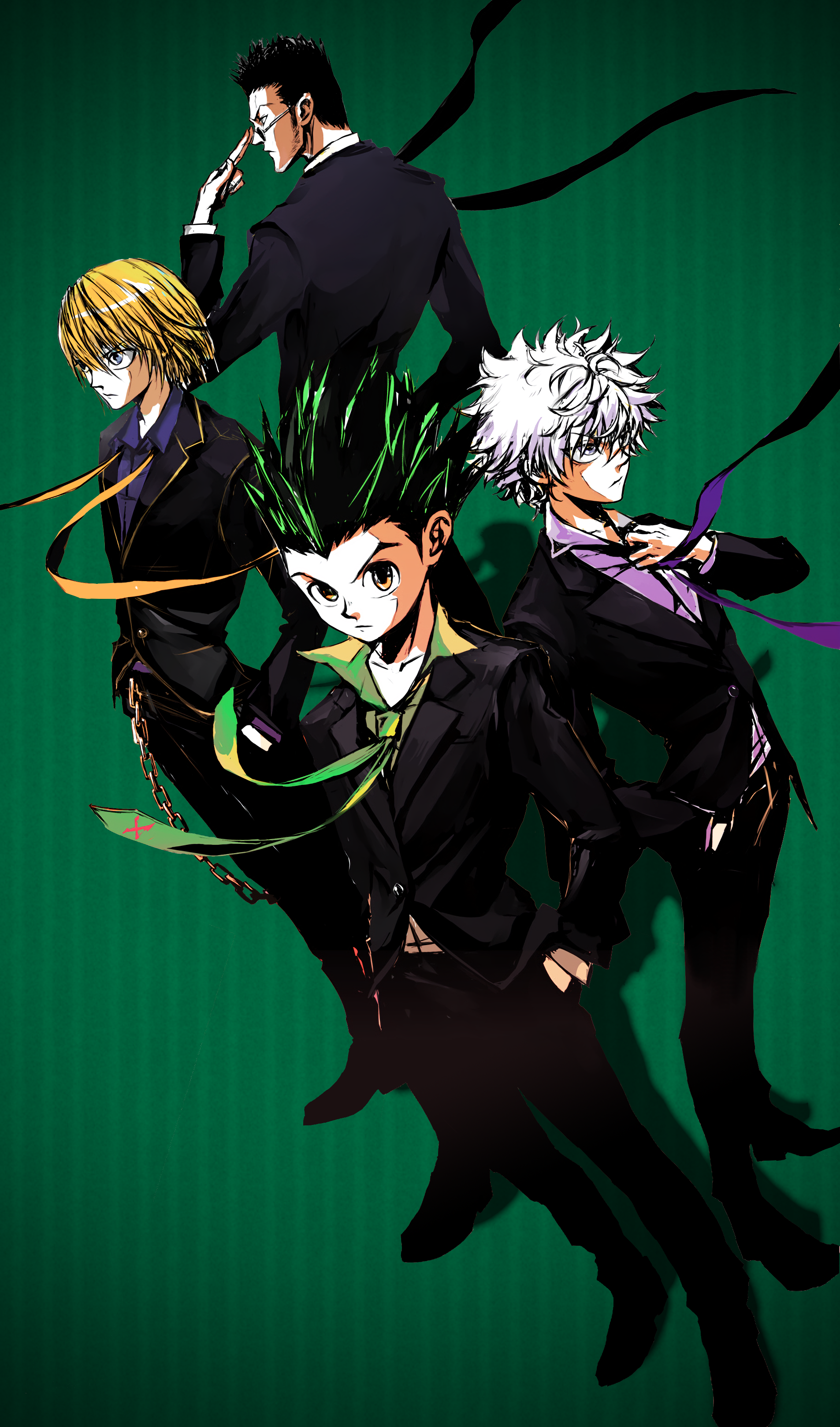 Hunters Hunter X Hunter Mobile Wallpaper By Kaz Kirigiri