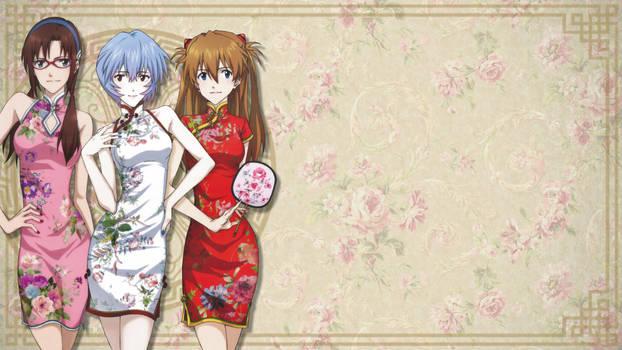 Oriental Evangelion - Evangelion Wallpaper