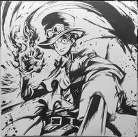 Sabo - One Piece Ink