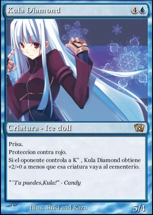 Magic Card Kula diamond by Shikiblackcross