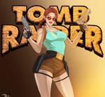 TOMB RAIDER LARA CROFT 25TH ANNIVERSARY