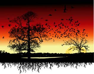 Birds II by azieser