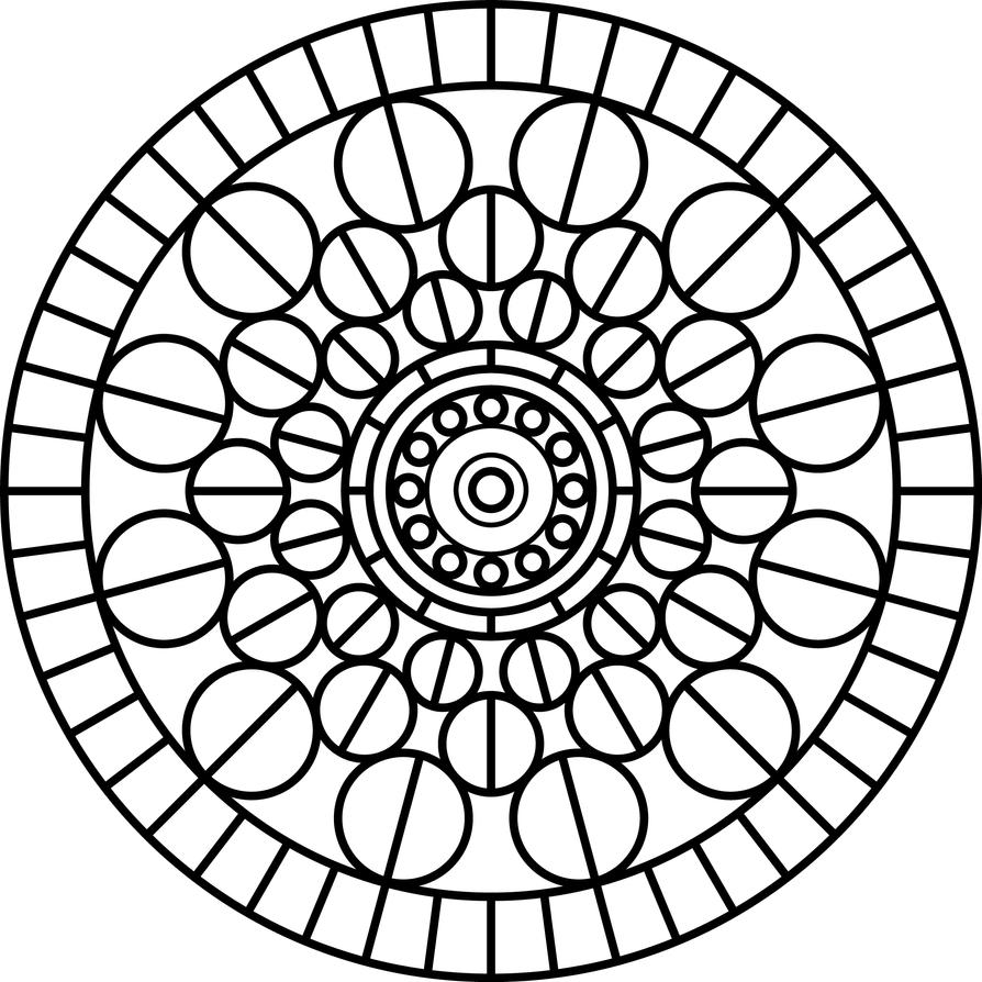 Mandala Three by azieser