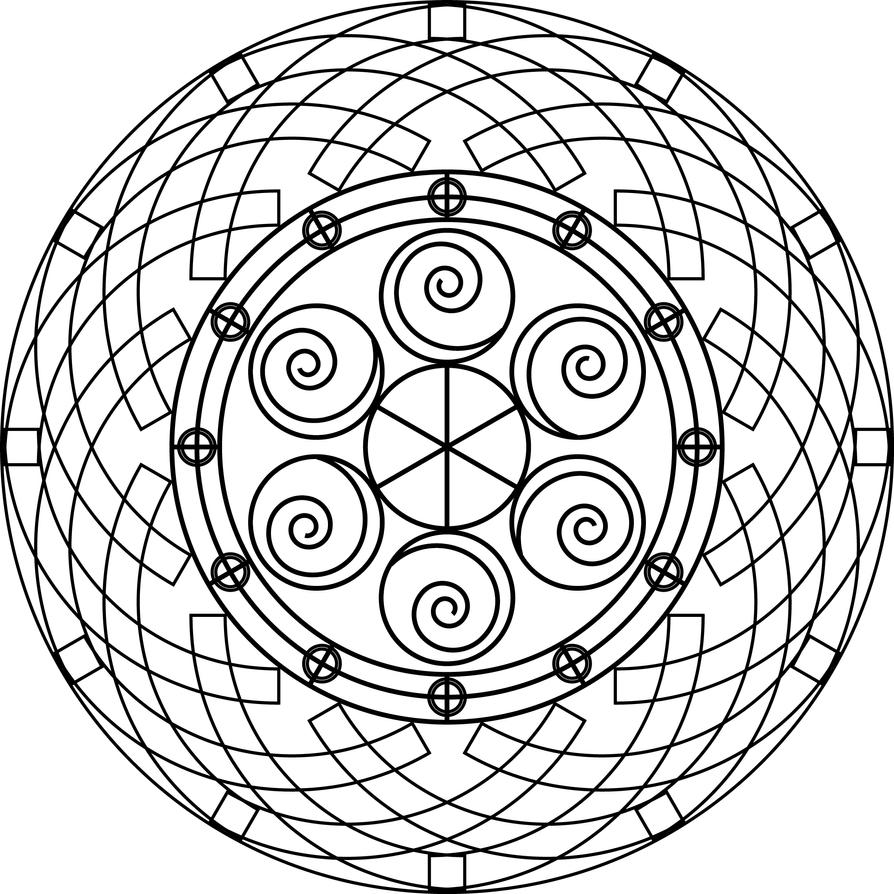 Mandala 23 by azieser