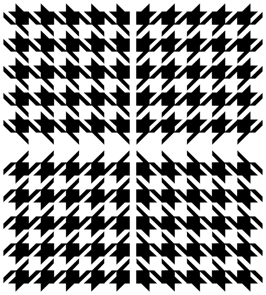 Houndstooth pattern by azieser